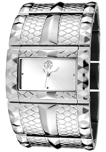 Roberto Cavalli 7253272515 - Orologio da polso, uomo, colore: grigio