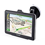 GPS Voiture Auto Europe 7 Pouces - 8G - Quand-core - Ecran Tactile - GPS Automobile - Cartes d'Europe