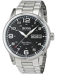 6ac9d288855 HUGO BOSS Men s Analogue Quartz Watch with Stainless Steel Bracelet –  1513327