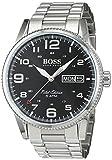 Hugo Boss Herren-Armbanduhr 1513327, Stahl/Schwarz