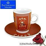 Seltmann Weiden VIP. Espressotasse mit Untertasse, Mokkatasse, Rom, Porzellan, Spülmaschinenfest, 90 ml, 1238395