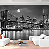 Fototapete New York 308 x 220 cm - Vliestapete - Wandtapete - Vlies Phototapete - Wand - Wandbilder XXL - !!! 100% MADE IN GERMANY !!! Runa Tapete 9101010b