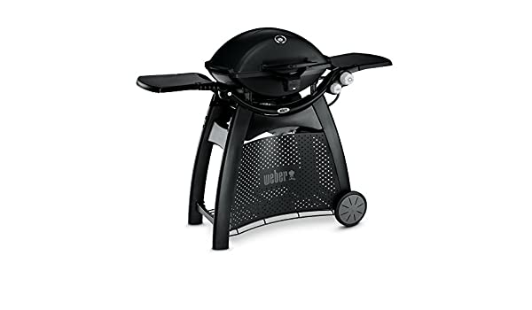 Weber Q2200/with Stand Black Grill Natural Gas Grill Grill, Natural Gas, 1806/cm/², Black, Oval, Stainless Steel