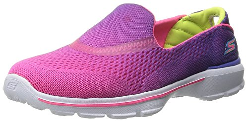 skechers-go-walk-3-girls-multisport-outdoor-shoes-purple-neon-pink-3-uk