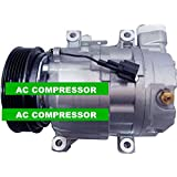 Gowe AC Compresseur pour cwv615m AC Compresseur pour voiture Nissan X-Trail 2.02,5Primera 2001–200892600au01a 92600au01b 92600au00092600au0102001–2008