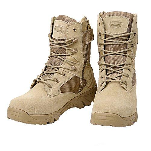 LiliChan , Herren Desert Boots, Bronzer -