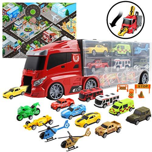 deAO Set de véhicules en Forme d...