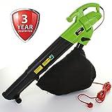 Marko Gardening 3000W Leaf Blower Electric Garden Vacuum Hoover Van Mulcher Shredder 3