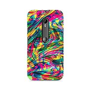 TAZindia Premium Printed Mobile Back case cover For Moto X Style