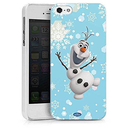 Apple iPhone X Silikon Hülle Case Schutzhülle Disney Frozen Olaf Geschenk Fanartikel Hard Case weiß