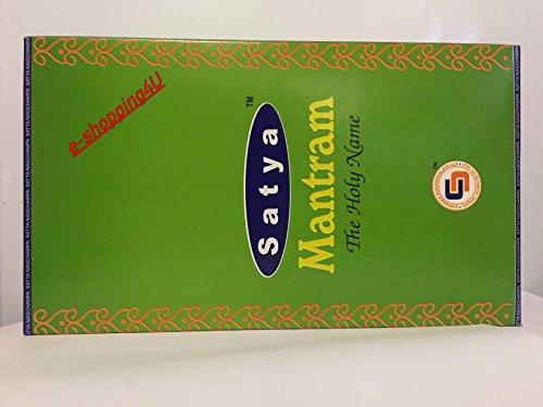 Satya Nag Champa Raumläucherstäumlbchen, unterschiedliche Arten, 12 bis 15 Stück ca.15 Gramm, MANTRAM