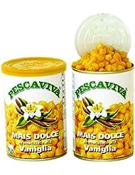Pesca Viva Angel maïs Vanille (Jaune clair) pour tanche, Carpe, brasse et döbel