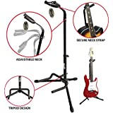 RockJam GS-001 Vertical Tripod Guitar Stand