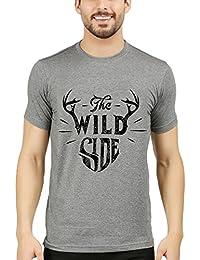 WEXFORD Men's Half Sleeves Printed Tshirt Round Neck Tshirt Cotton Tshirt Casual Tshirt Branded Tshirt