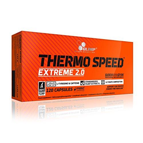 Olimp Thermo Speed Extreme Mega Caps 120 Kapseln, 1er Pack (1 x 146,4 g)