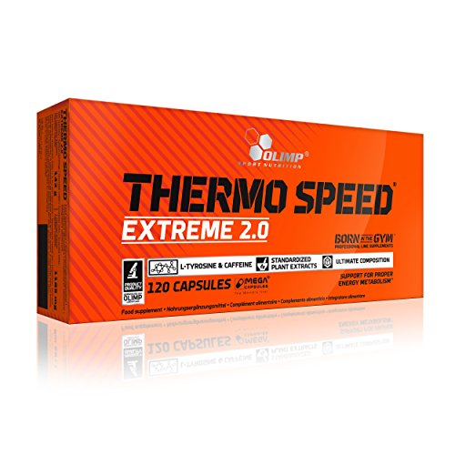 *Olimp Thermo Speed Extreme Mega Caps 120 Kapseln, 1er Pack (1 x 146,4 g)*