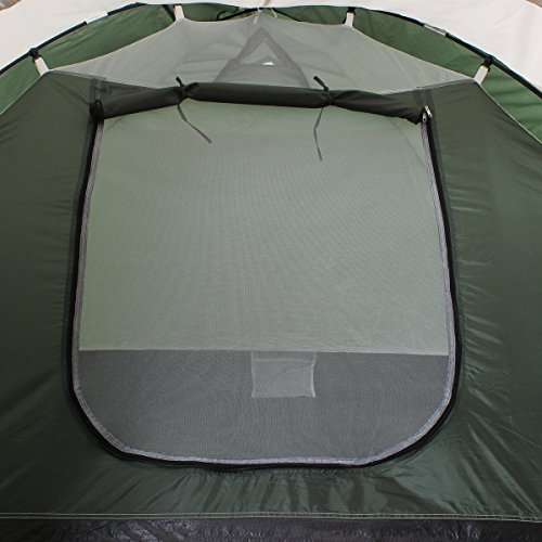 51cd0fbpZvL. SS500  - Semoo Lightweight 3-Season Camping/Traveling Tent Double Layer, 3-4 Person Waterproof Dome Tent with Carry Bag