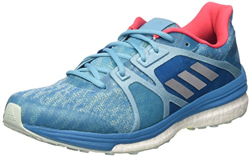 adidas Damen Supernova Sequence 9 Laufschuhe, Blau (Vapour Blue F16/Matte Silver/Craft Blue F16), 39 1/3 EU (Adidas-sequence)