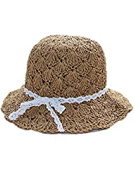 Hot Paternity hat Lace Grand chapeau bordé chapeau de soleil de plage