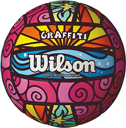 WILSON Outdoor Volleyball, Unisex, Multi, OS (Wilson Nfl Offizielle Größe Football)