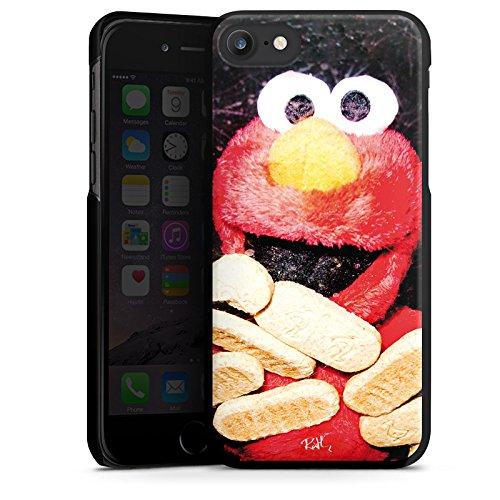 Apple iPhone X Silikon Hülle Case Schutzhülle Oliver Rath Elmo Sesamstraße Hard Case schwarz