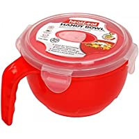 2xHeat & Eat Microwave Bowl, Red