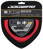 Jagwire - Kit per cavo cambio Road Elite, impermeabile, colore: Rosso