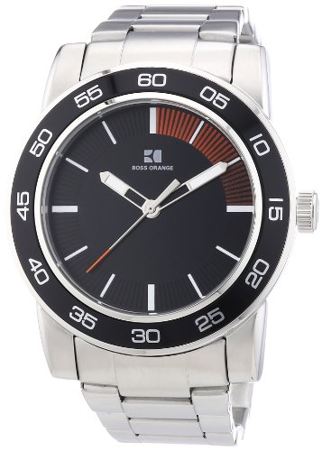 Boss Orange Men's Quartz Watch 1512859 1512859 with Metal Strap