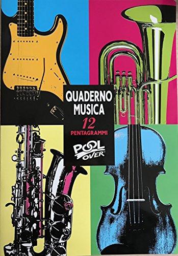 Poolover-90166-Album-e-Quaderno-Musica-A4-Pentagramma