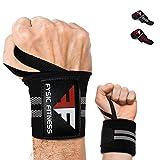 Fysic Fitness Handgelenk Bandagen, Wrist Wraps, 45 cm Hangelenkbandage für Fitness, Gewichtheben,...
