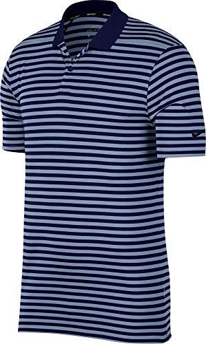 Nike Herren Dri-Fit Victory Poloshirt, Blue Void/Indigo Fog/Black, XL - Dry Golf Polo