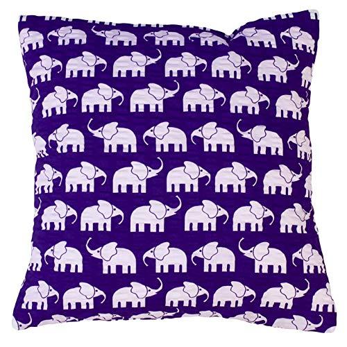 Almohada sirsaca, Blanco, habitación de los Niños, decoración Cojín de elefantes en...