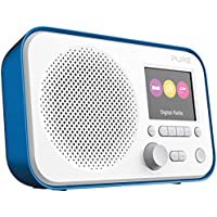 Pure Elan E3 Portable Digital DAB/DAB+/FM Digital Radio with Alarm, Colour Screen, AUX Input, Headphones Output and 40 Station Presets – Portable Radio/Portable DAB Radio – Blue