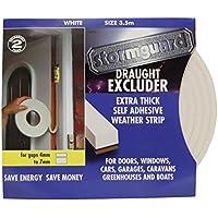 Stormguard - Joint d'isolation épais en mousse de caoutchouc pour porte ou fenêtre (rouleau de 3,5m)