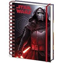 """Cuaderno de notas Star Wars: Epidodio VII - The Force Awakens/ El Despertar de la Fuerza """"Kylo Ren"""""""