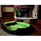 """PetsMaker"""" Deluxe Pet Bed For Dogs And Cats Velvet Ultra-Soft Plush Solid Pet Sleepeer -Medium - B07BWTSSB6"""