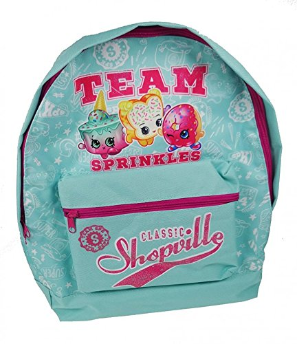 Shopkins Roxy Backpack Kinder-Rucksack, 39 cm, 13 liters, Türkis (Aqua)