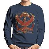 Pokemon Go Team Valor Crest Men's Sweatshirt