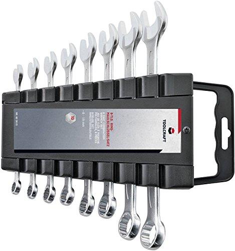 Jeu de clés mixtes TOOLCRAFT 820901 8 pièces 8-19 mm 1 set