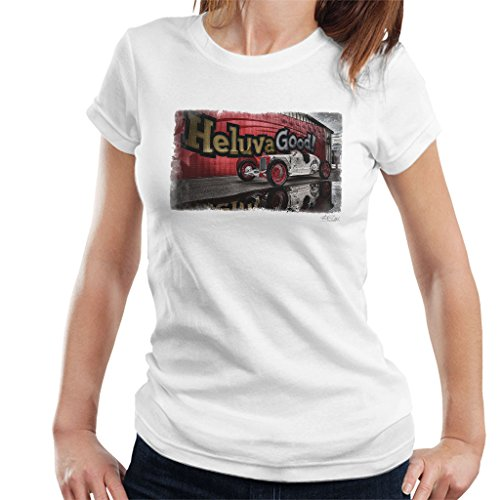 Martyn Goddard Official Photography - HCS Special Distressed Edge Indy Racer Women's T-Shirt