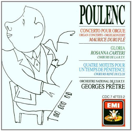 Poulenc: Organ Concerto; Gloria; Four Motets - Organ Concerto Poulenc