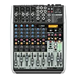 Behringer QX1204USB Premium 12 Input 2/2 Bus Mixer with XENYX Mic, Preamps and Compressors