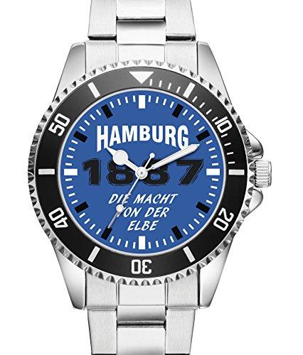 Hamburg Geschenk Fan Artikel Zubehör Fanartikel Uhr- 6044
