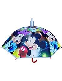 Baal Cute Cartoon Printed Umbrella For Kids Girl And Boys, Multicolor, 30 Grams, Pack Of 1