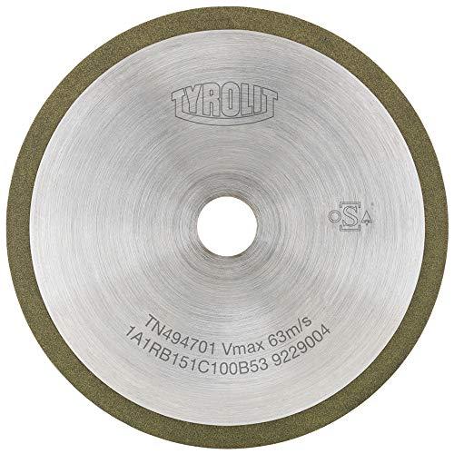 Mesa curvada Metalliform CBSQ-10C-PS-GR-59-LG-Oak color roble madera de roble, poliuretano resistente, borde verde
