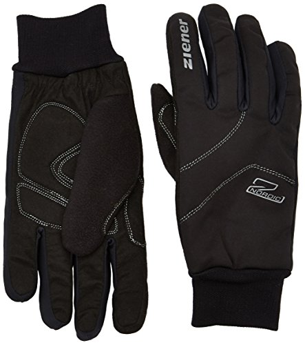 Ziener Herren ULLER Glove Crosscountry Handschuh, Black, 7,5