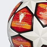 adidas Finale J350 Ballon pour Homme Blanc/Rouge écarlate Actif Bas : Orange Vif/Or Solaire/Noir, 5