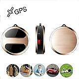 GPS Tracker, TKSTAR Mini Echtzeit GPS Tracker GPS Ortung GSM / GPRS / GPS Locator für Kinder ältliches Haustier Katzen Hund Fahrzeug Auto LKW oder Sachen mit Freier APP