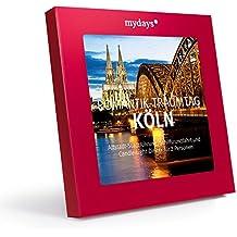 Geschenkidee - mydays - Traumtag für zwei in Köln, Erlebnisgutschein Stadtführung mit Schiffrundfahrt und Dinner, Geschenkbox
