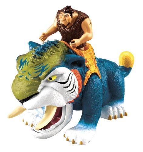 The Croods - Guacanívoro Bocazas, Muñecos, figuras y playsets de acción (Mattel W3622)
